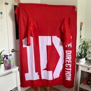 1D One Direction Sleeved Blanket